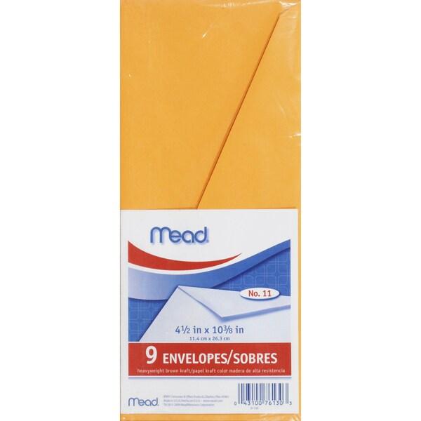 Shop MeadWestvaco 76130 Letter Size Heavyweight Kraft Envelope 9