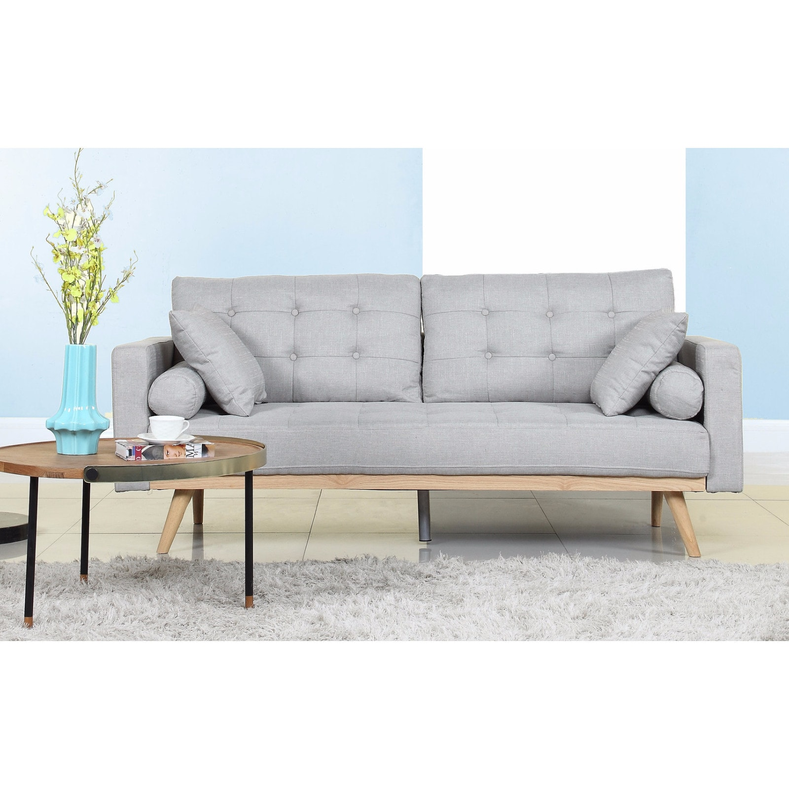 Chesterfield Sofa Samt Rosa Buy Fabric Sofa Online At Overstock Our Best Living Room