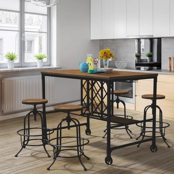 Shop Furniture Of America Daimon Industrial Wine Rack