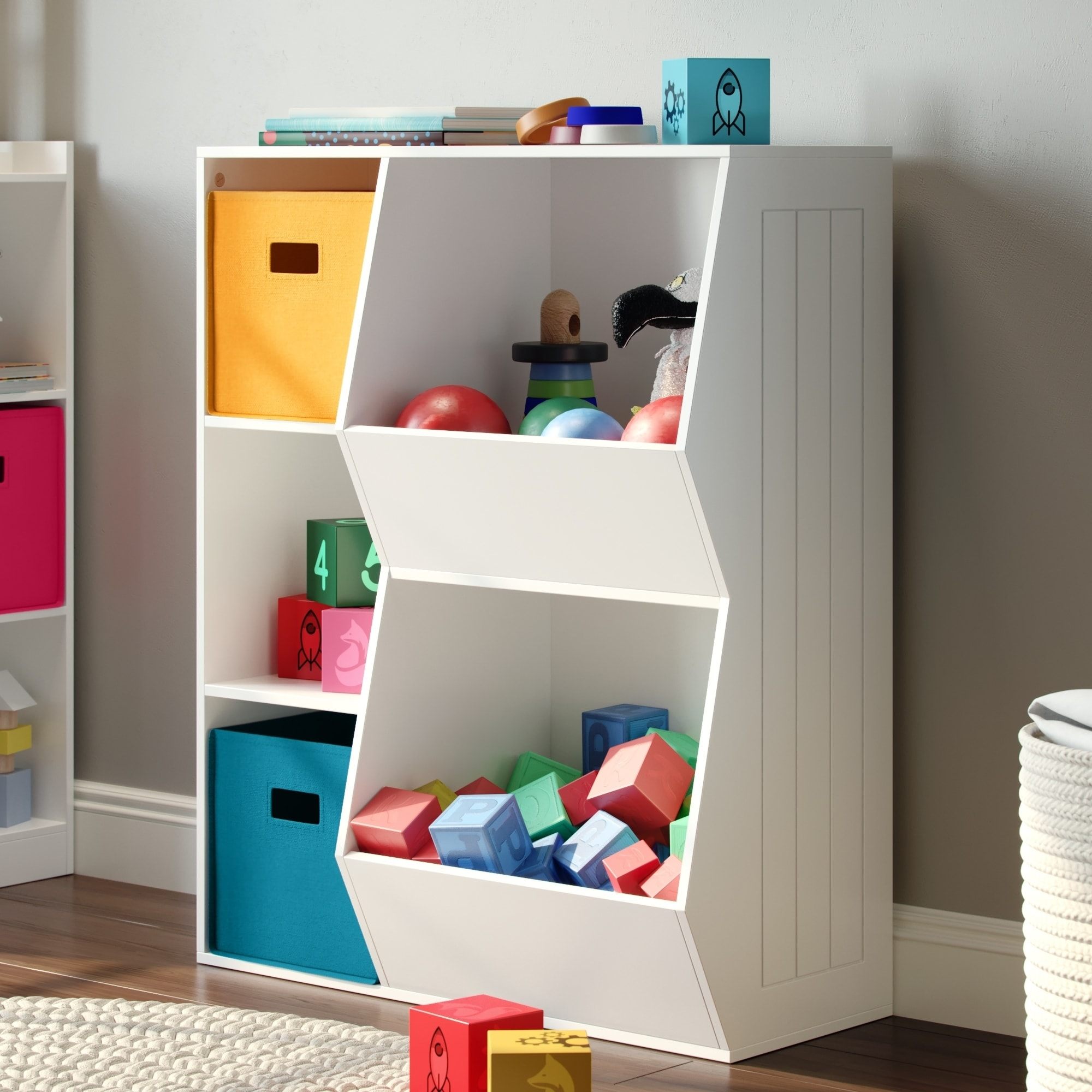 Toy Box With Bookshelf Buy Kids Storage Toy Boxes Online At Overstock Our Best Kids