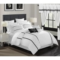 Shop Chic Home 24-Piece Auburn King Bed In a Bag Comforter ...