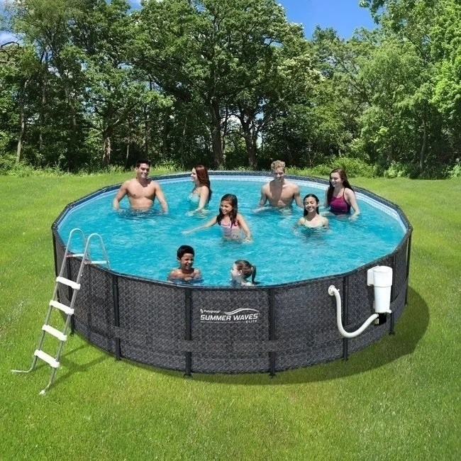 Intex Pool Frame Rund Buy Above Ground Pools Online At Overstock Our Best Swimming Pool