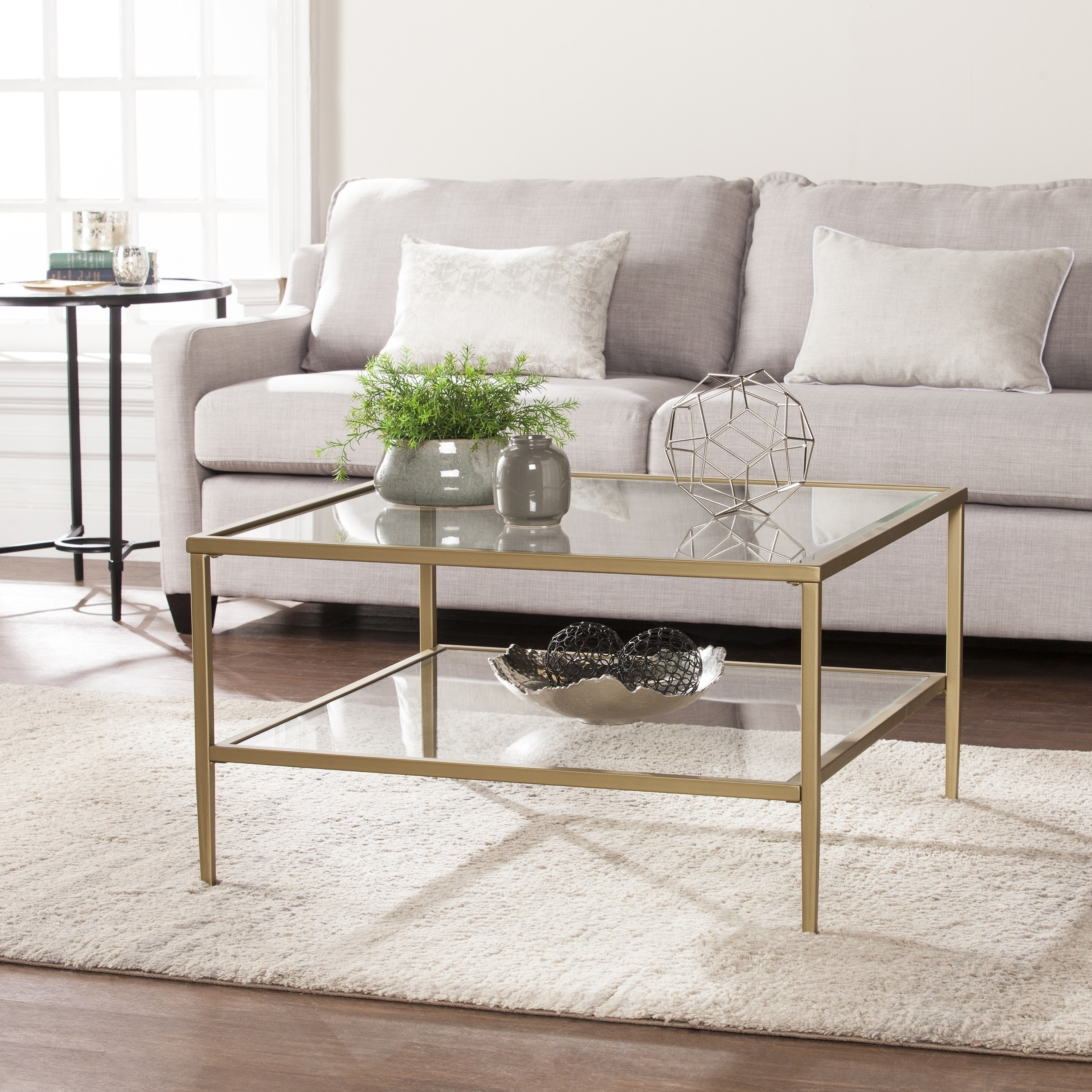 Metal Coffee Table Buy Glass Coffee Tables Online At Overstock Our Best Living