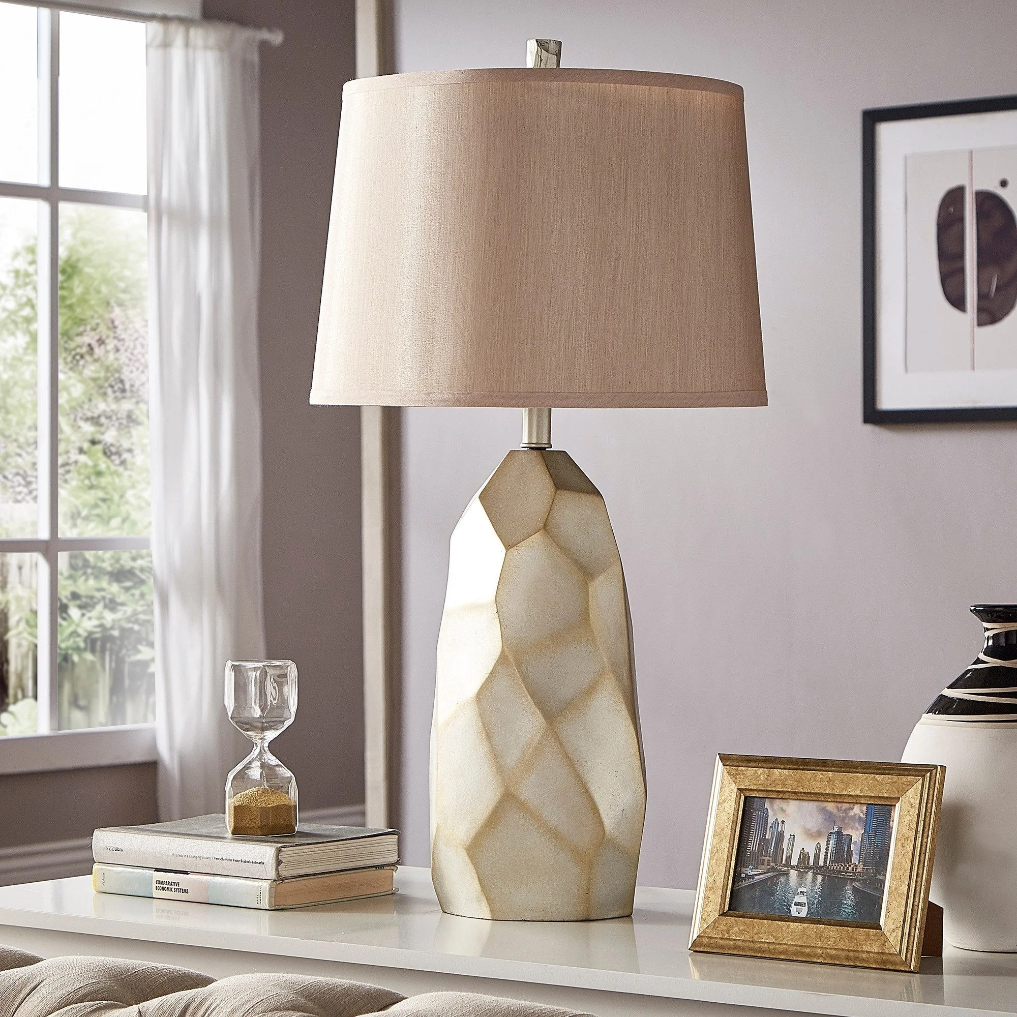 Ultra Modern Table Lamp Details About Jacqueline Faceted Table Lamp By Inspire Q Modern