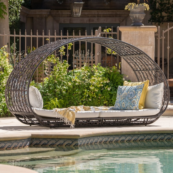 Small Sofas Under $500 Shop Boca Grande Outdoor Daybed With Cushions By