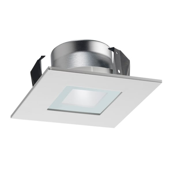 12 Square Recessed Lighting Trim Shop Juno Lighting 12sq Wwh 4-inch Square Recessed Shower