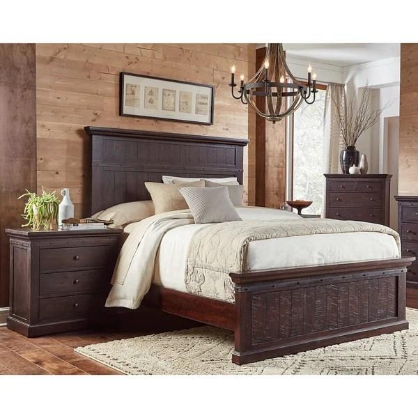 Shop Lara 3 Piece Solid Wood King Bedroom Set On Sale