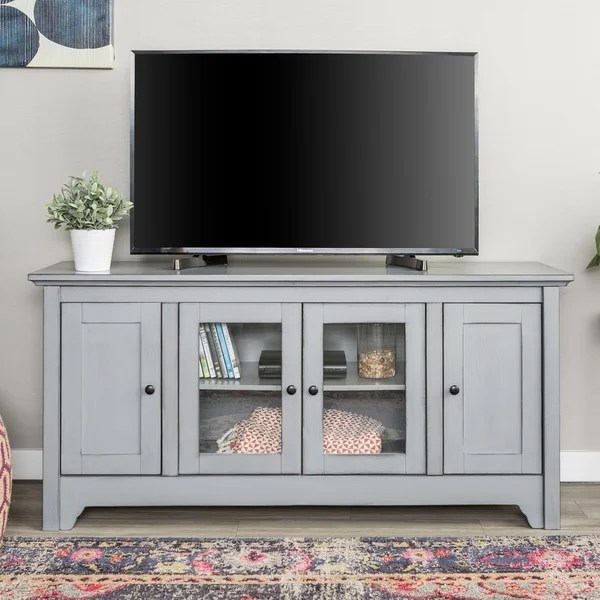 "Hemnes Tv Stand 52"" Wood Tv Media Stand Storage Console - Free Shipping"