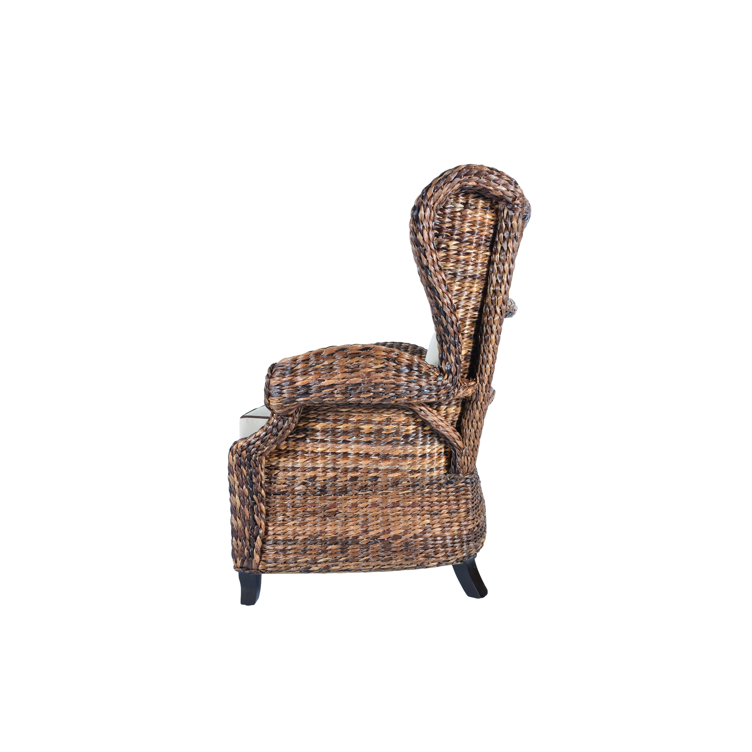 Rattan Lounge Chair Philippines Handmade Boracay Rolled Arm Wingback Chair Philippines