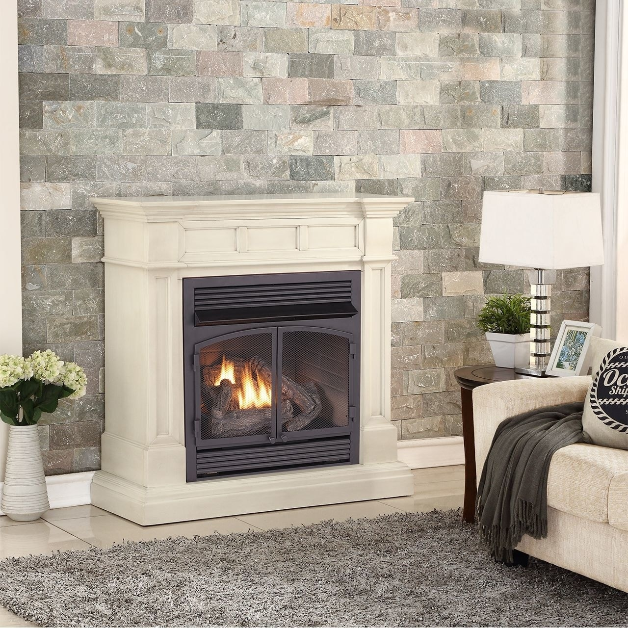 Antique White Gel Fireplace Buy Fireplaces Online At Overstock Our Best Decorative