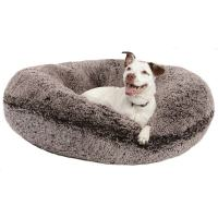 Bessie & Barnie Signature Extra Plush Faux Fur Bagel Pet ...