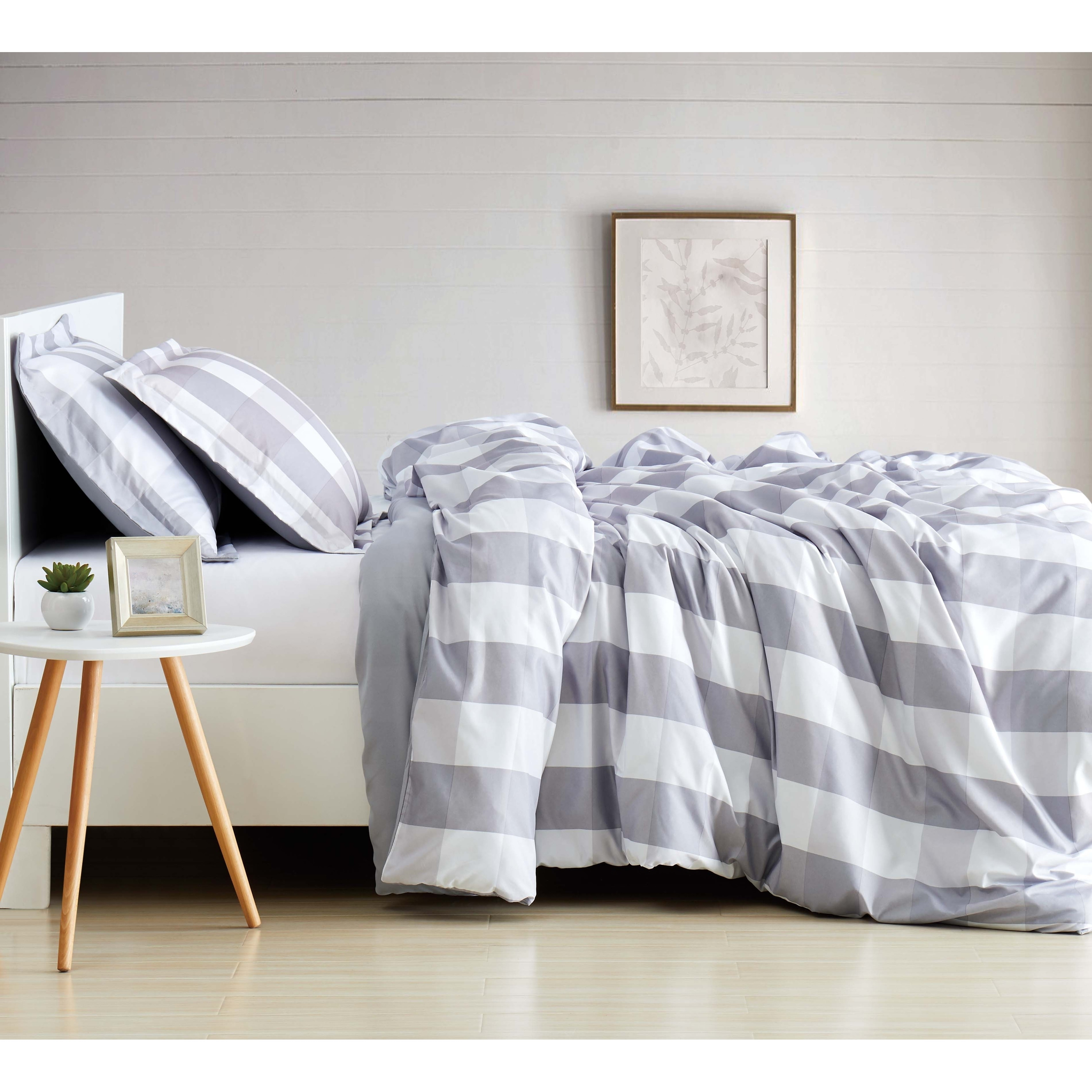 Soft Duvet Covers Details About Truly Soft Everyday Buffalo Plaid Printed Duvet Cover Set