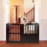 Richell Hands-Free Pressure Mounted Pet Gate - Free ...