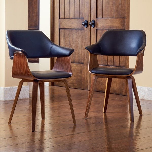 Shop Corvus Norah Mid Century Modern Accent Chairs With - Designer Accent Chairs On Sale