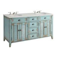 Shop Modetti Palm Beach 60-inch Double Sink Bathroom ...