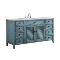 Shop Modetti Palm Beach 60-inch Single Sink Bathroom ...