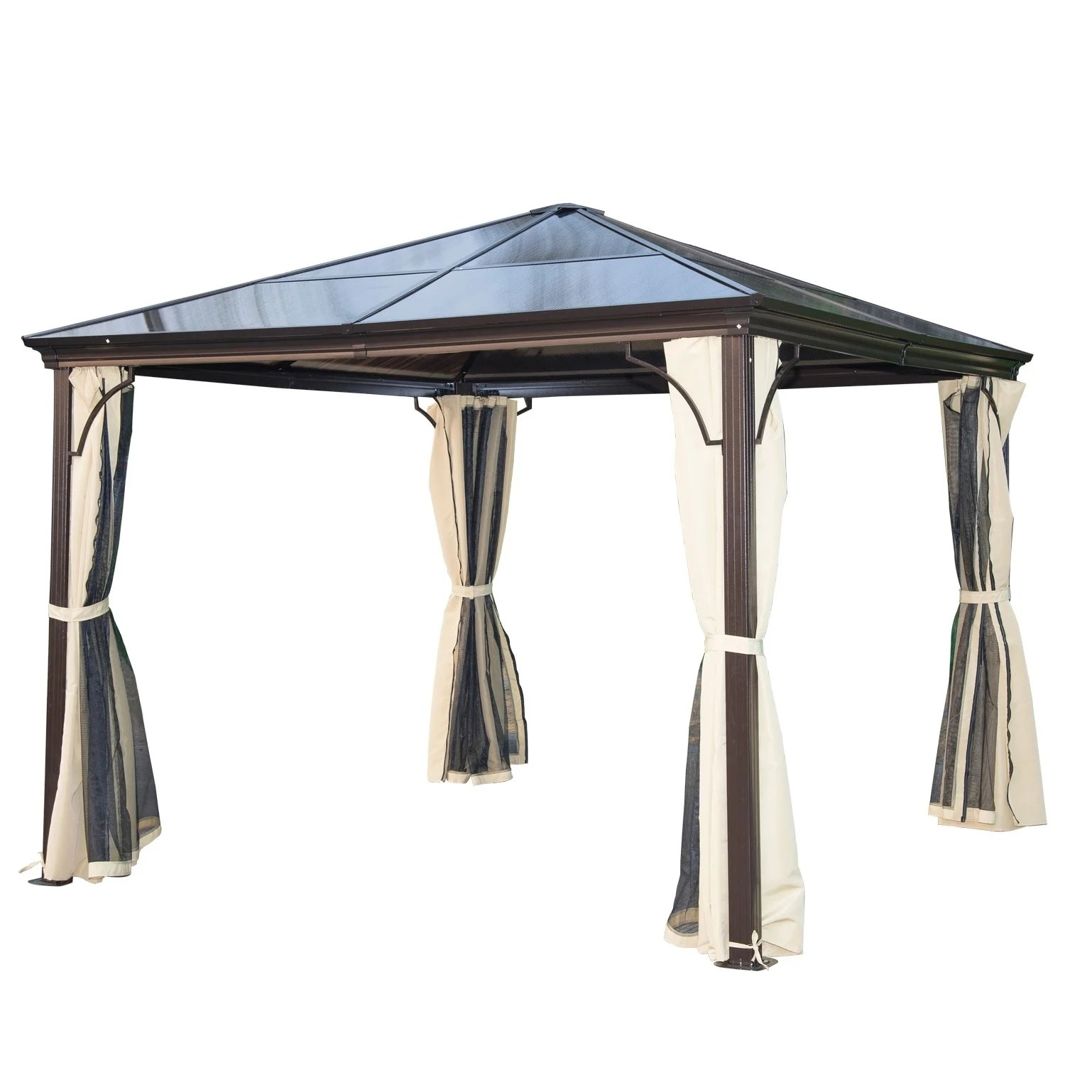 Pop Up Sun Shelter Canada Buy Gazebos Pergolas Online At Overstock Our Best Patio