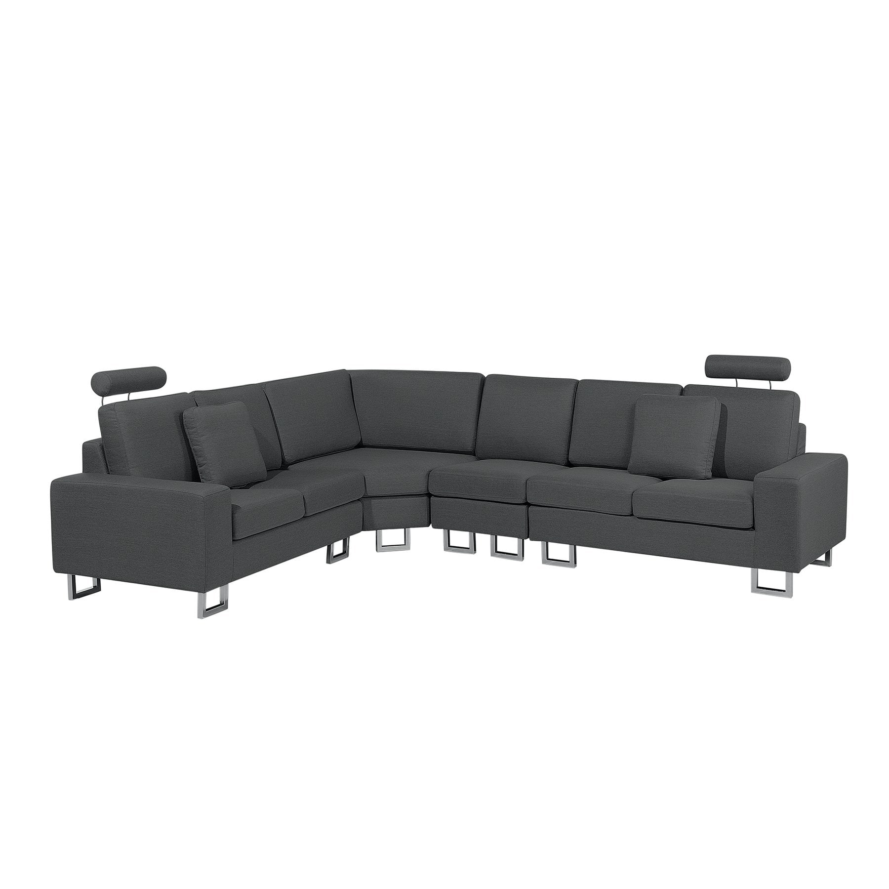 Stockholm Sofa Details About Fabric Sectional Sofa Dark Gray Stockholm