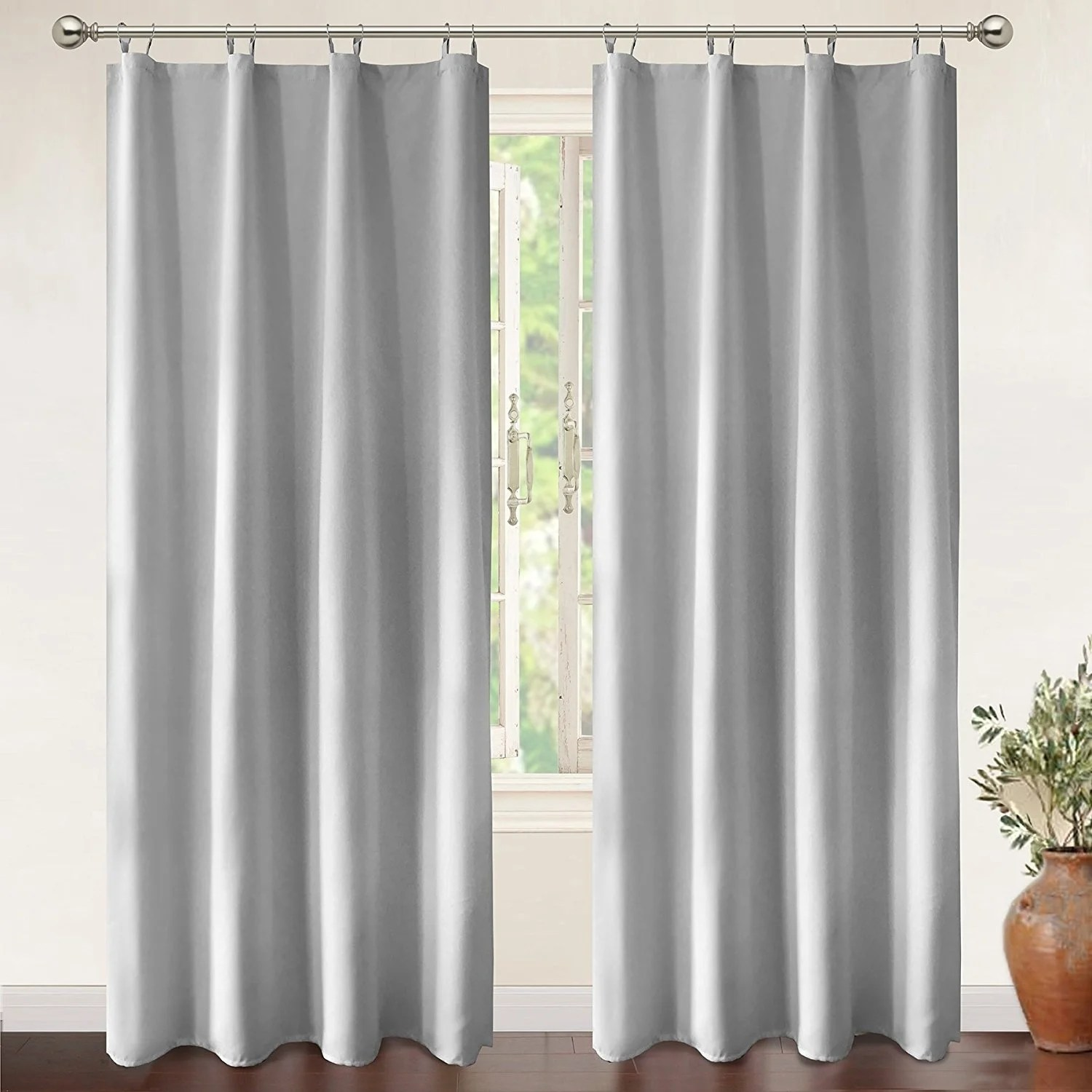 94 Inch Blackout Curtains Details About Driftaway Insulated Blackout Curtain Liner For Grommet Curtains