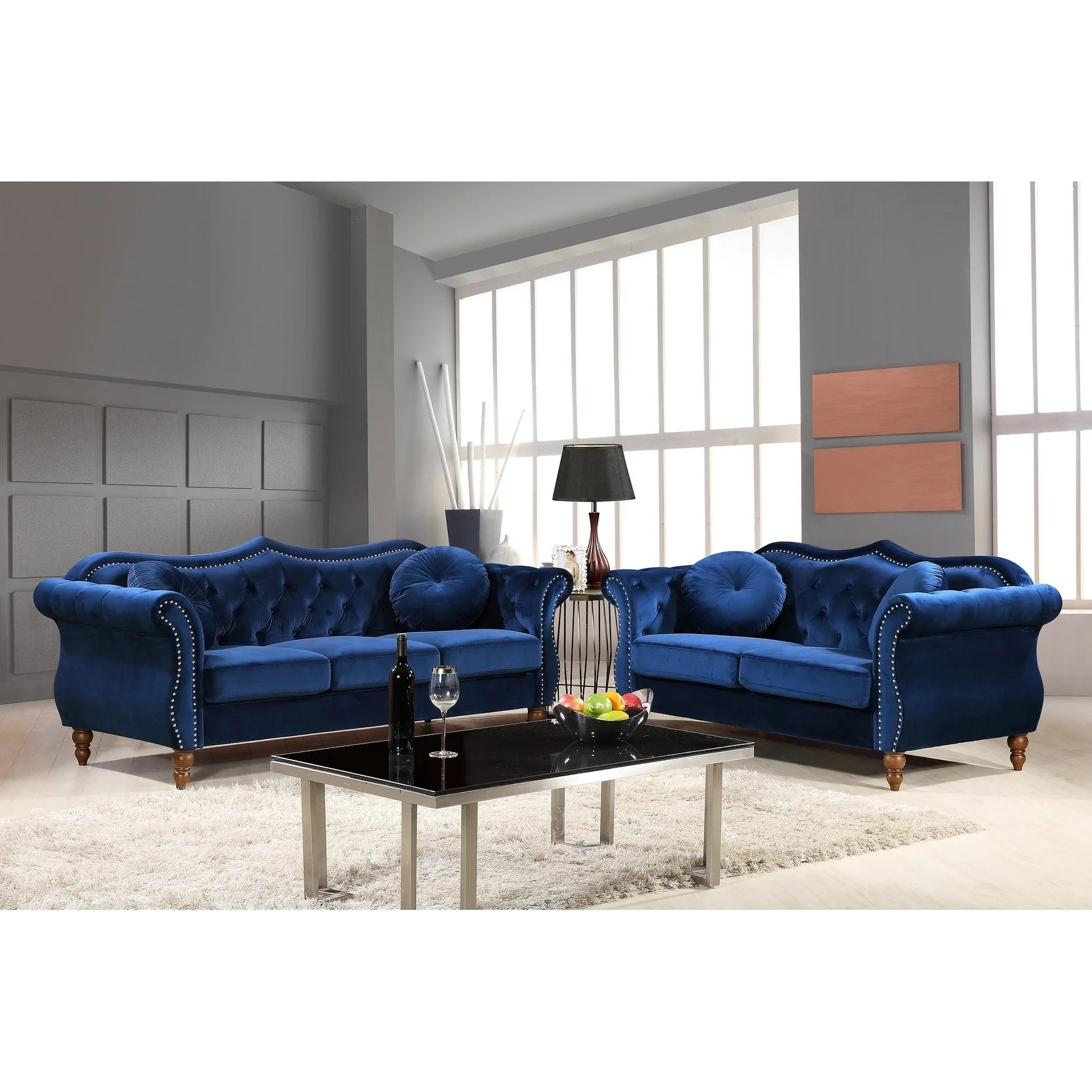 Sofa Entertainment Group Llc Buy Blue Living Room Furniture Sets Online At Overstock Our Best