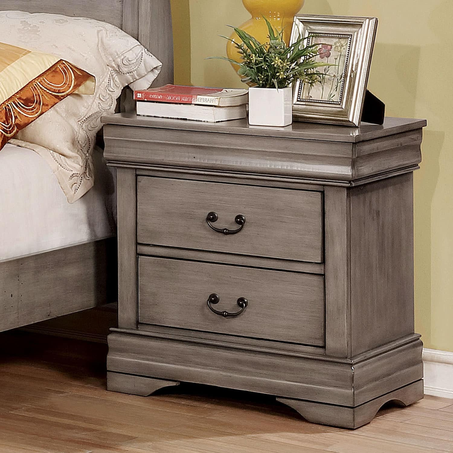 Furniture Overstock Shop Furniture Of America Anna Transitional 2 Drawer Nightstand