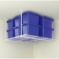 Shop Hyloft Steel Ceiling Storage Unit 45 in. L x 28 in. H ...