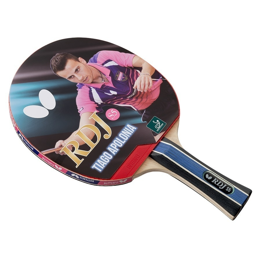 Mesa De Ping Pong Butterfly Detalles Acerca De Butterfly Rdj S5 Table Tennis Racket Ittf Approved Ping Pong Paddle Excellent