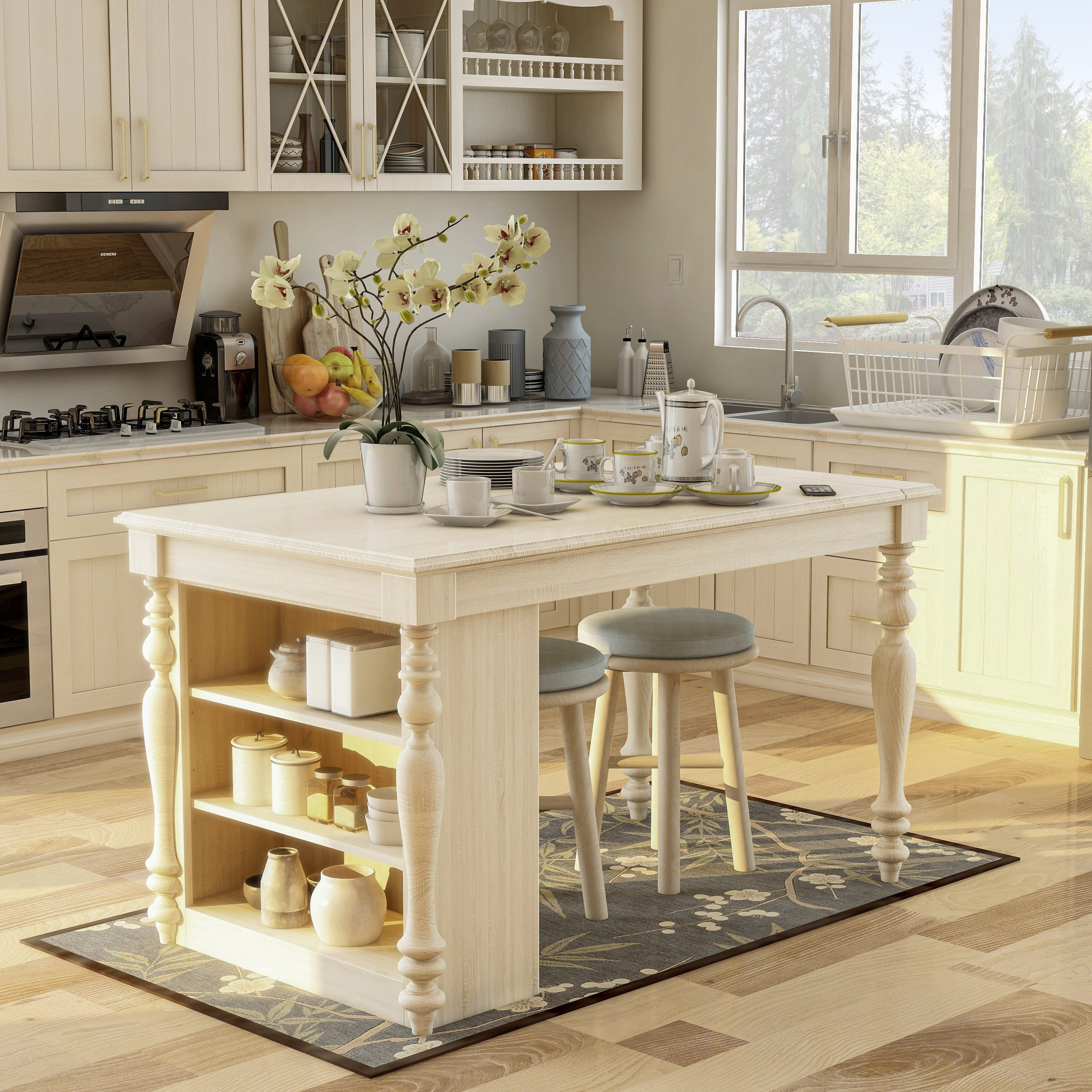 Kitchen Island Clearance Sale Buy White Kitchen Islands Online At Overstock Our Best Kitchen