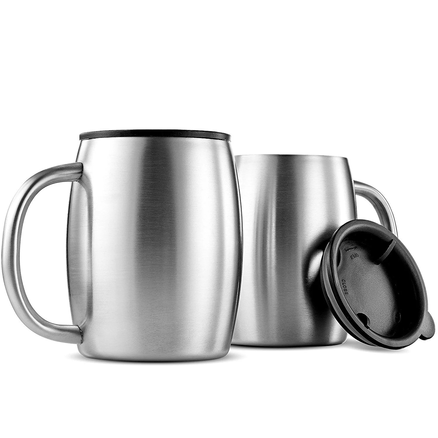 Double Handled Coffee Mugs Coffee Mugs Insulated Stainless Steel Best Mugs Design