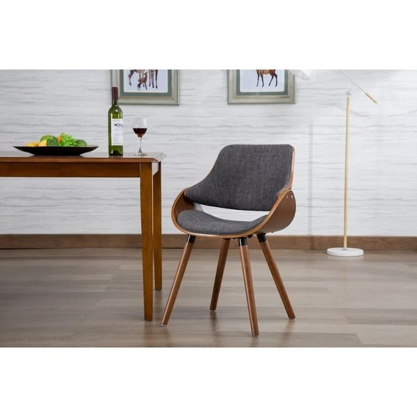 Shop Porthos Home Wood And Fabric Mid Century Modern - Designer Accent Chairs On Sale
