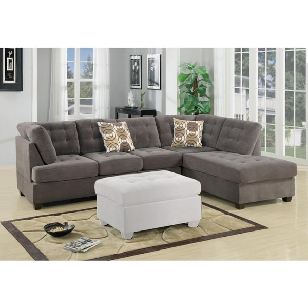Corduroy Sofa Sectional Shop Luxurious And Plush 2-piece Corduroy Sectional Sofa