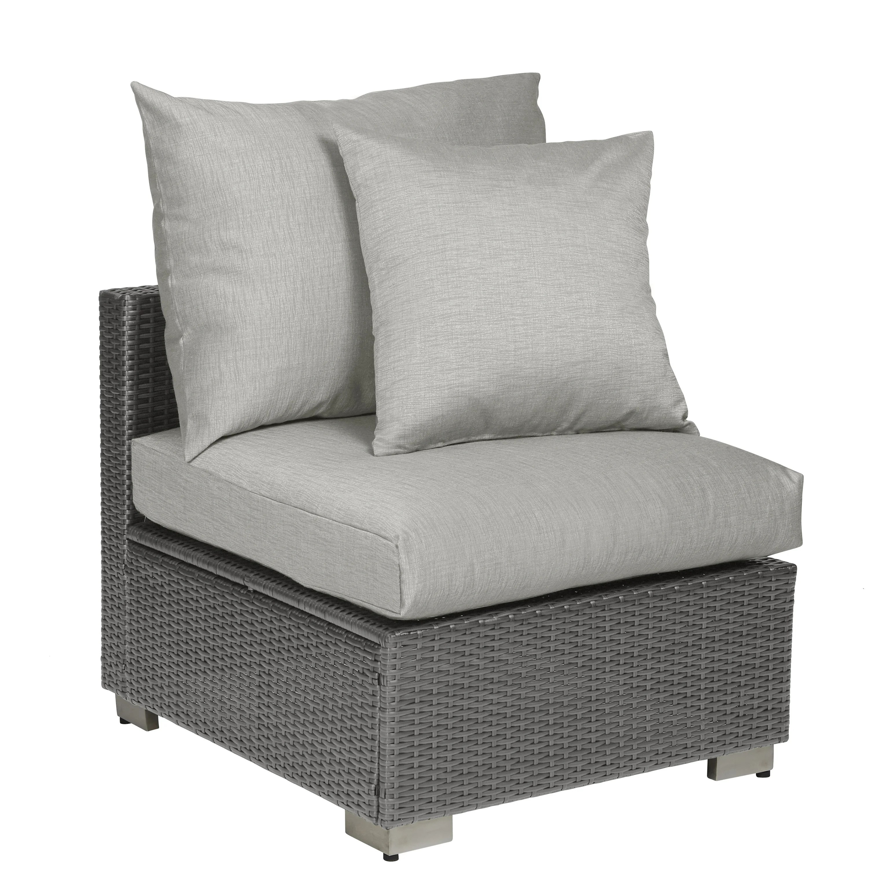Open Weave Rattan Sofa Mid Century Buy Outdoor Sofas Chairs And Sectionals Online At Overstock
