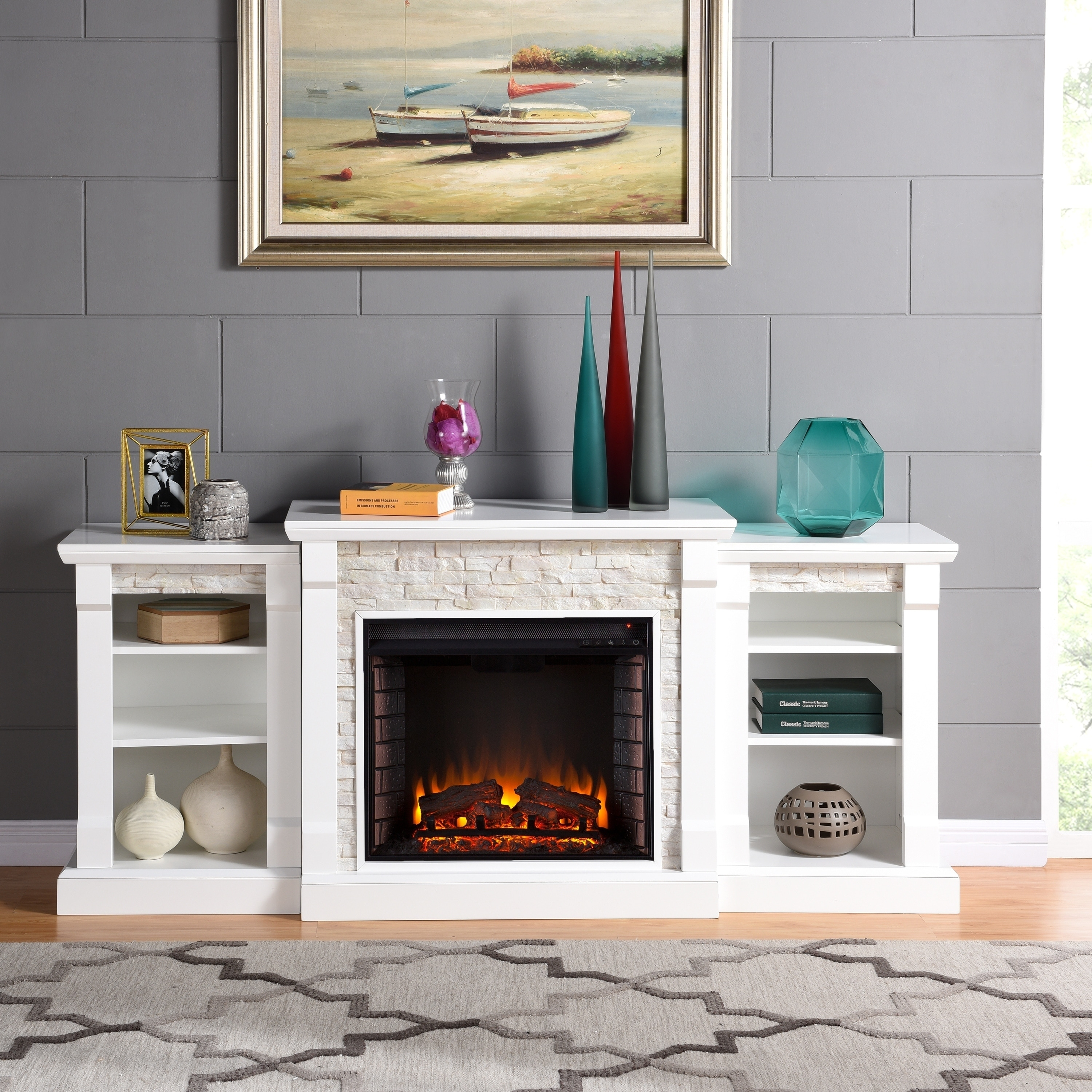 Artificial Fireplaces Buy Electric Fireplaces Online At Overstock Our Best Decorative