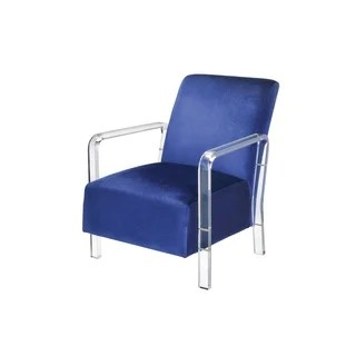 Shop Baxton Studio Tasha Clear Polycarbonate Modern Accent - Designer Accent Chairs On Sale