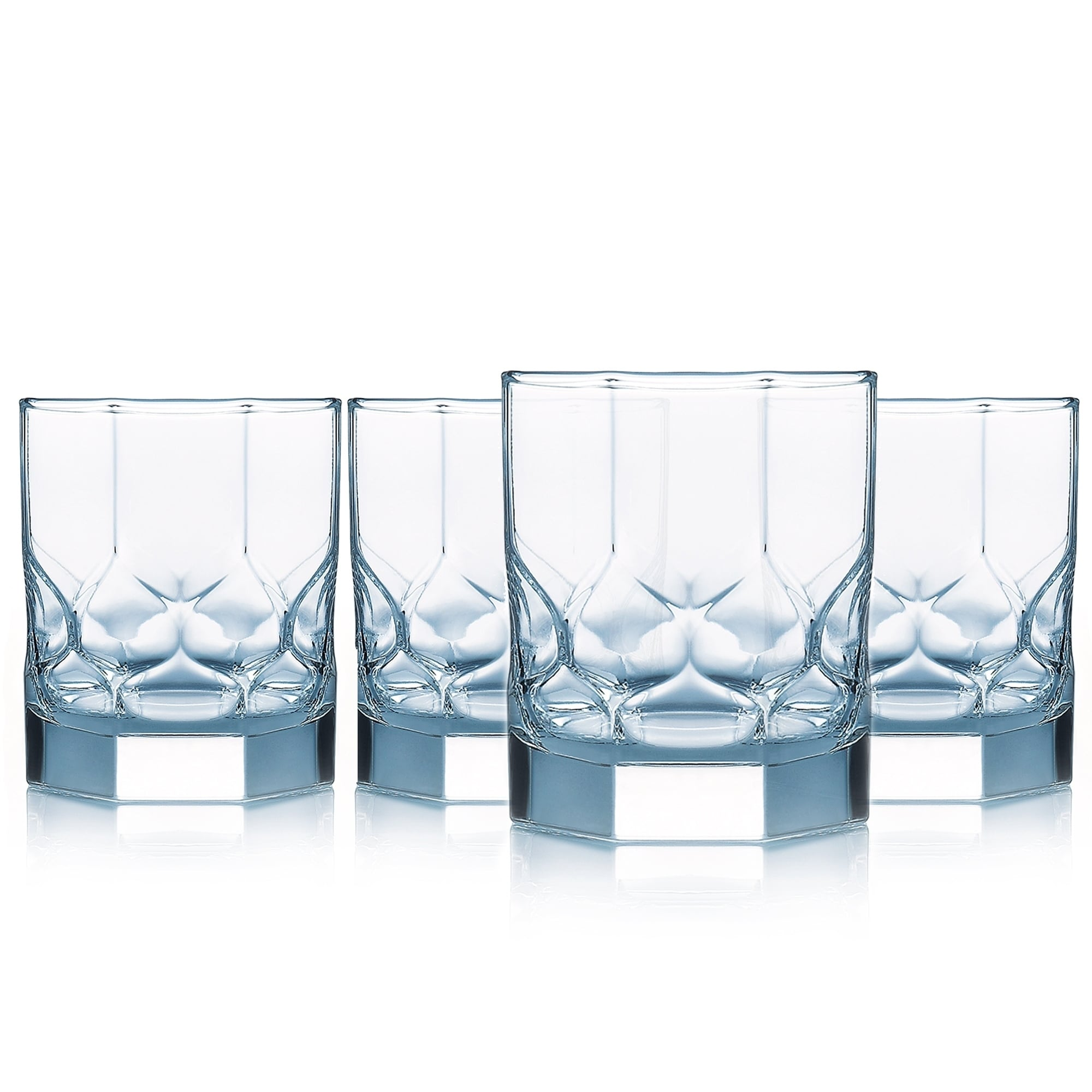 Luminarc Glass Details About Luminarc Topaz On The Rocks Glass Set Of 4 10 Ounce