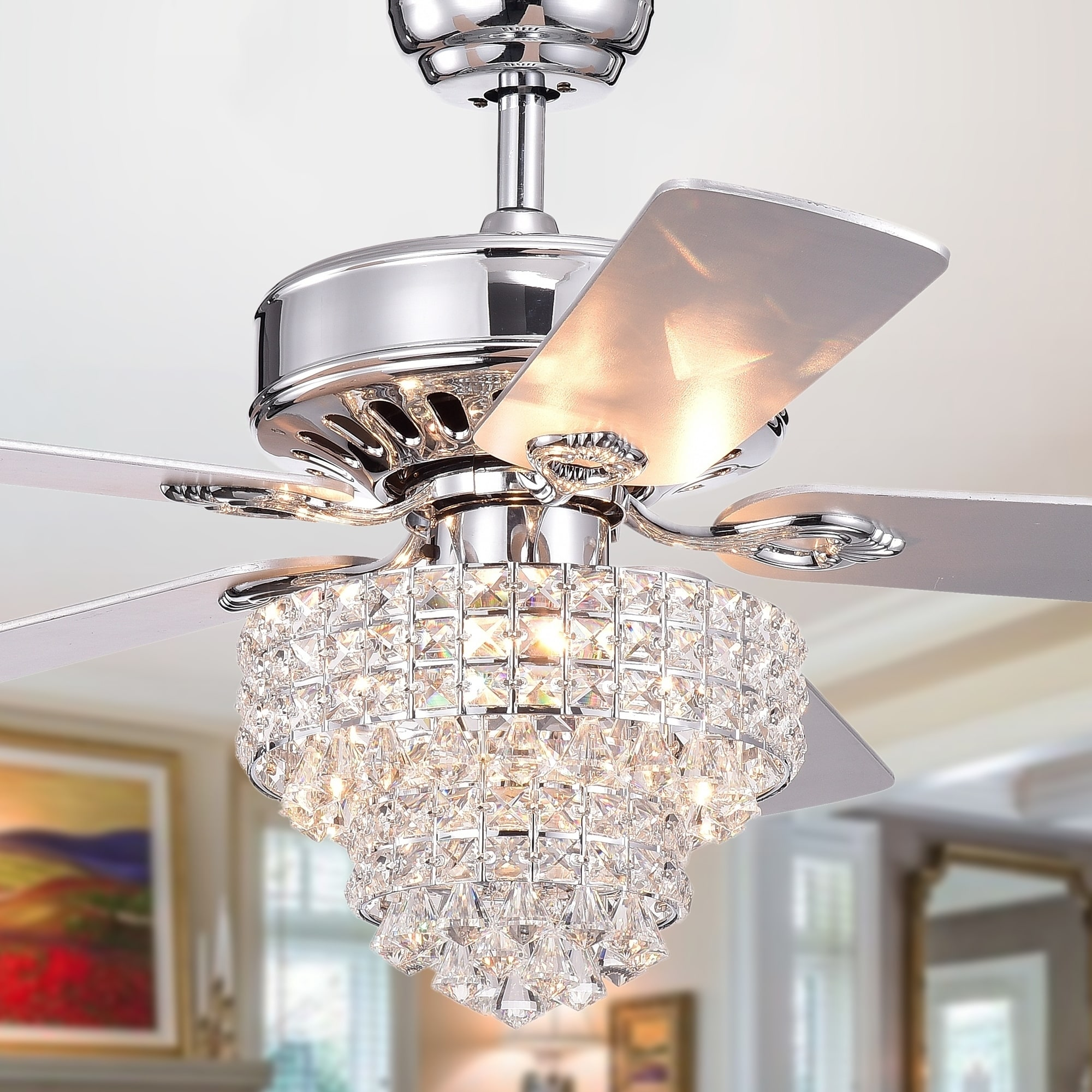 Ceiling Fan Size For Garage Buy Ceiling Fans Online At Overstock Our Best Lighting Deals