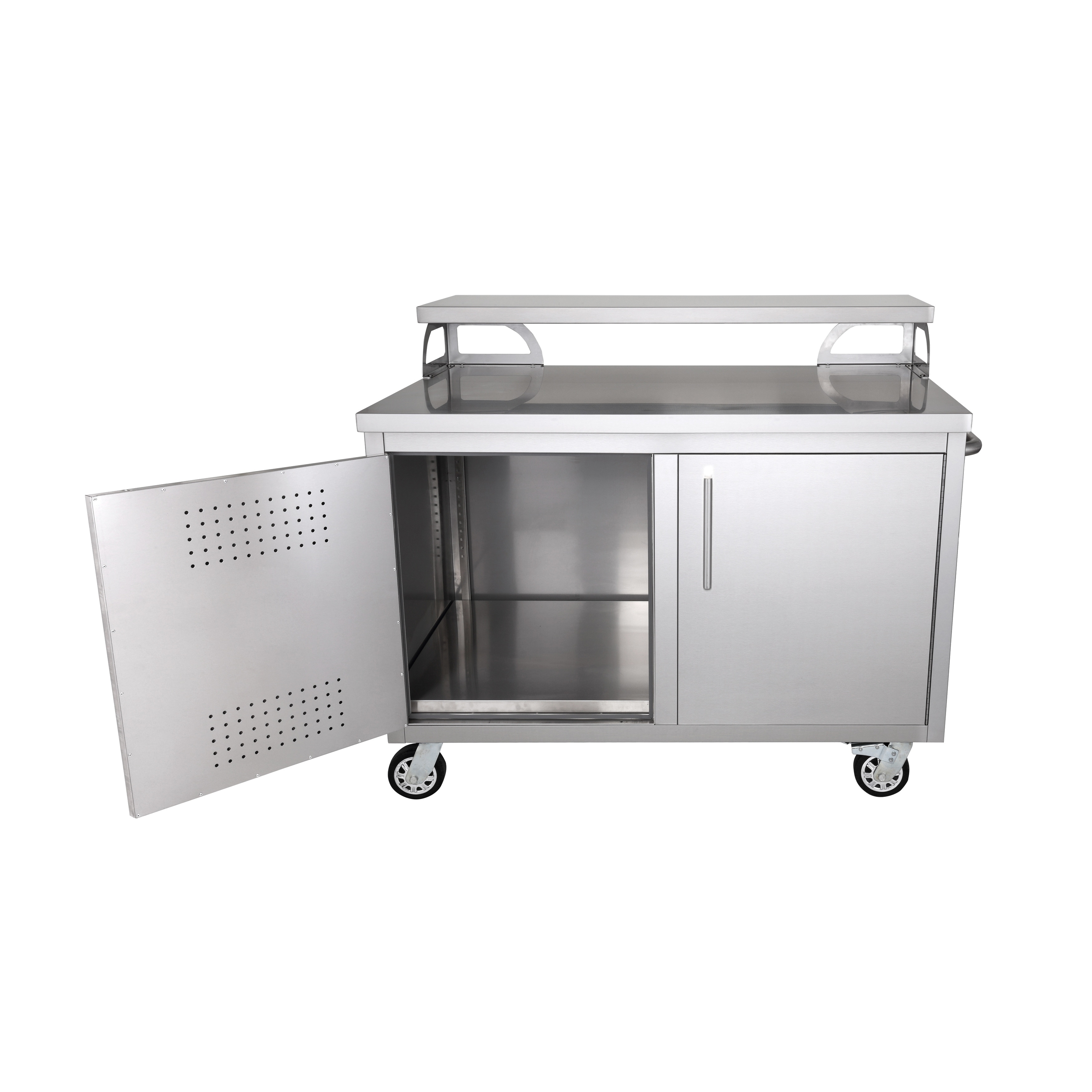 Shop Portable Stainless Steel Outdoor Kitchen Cabinet Patio Bar - Portable Outdoor Kitchen