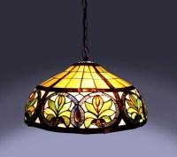 Shop Tiffany-style Sunrise Hanging Lamp - Free Shipping ...