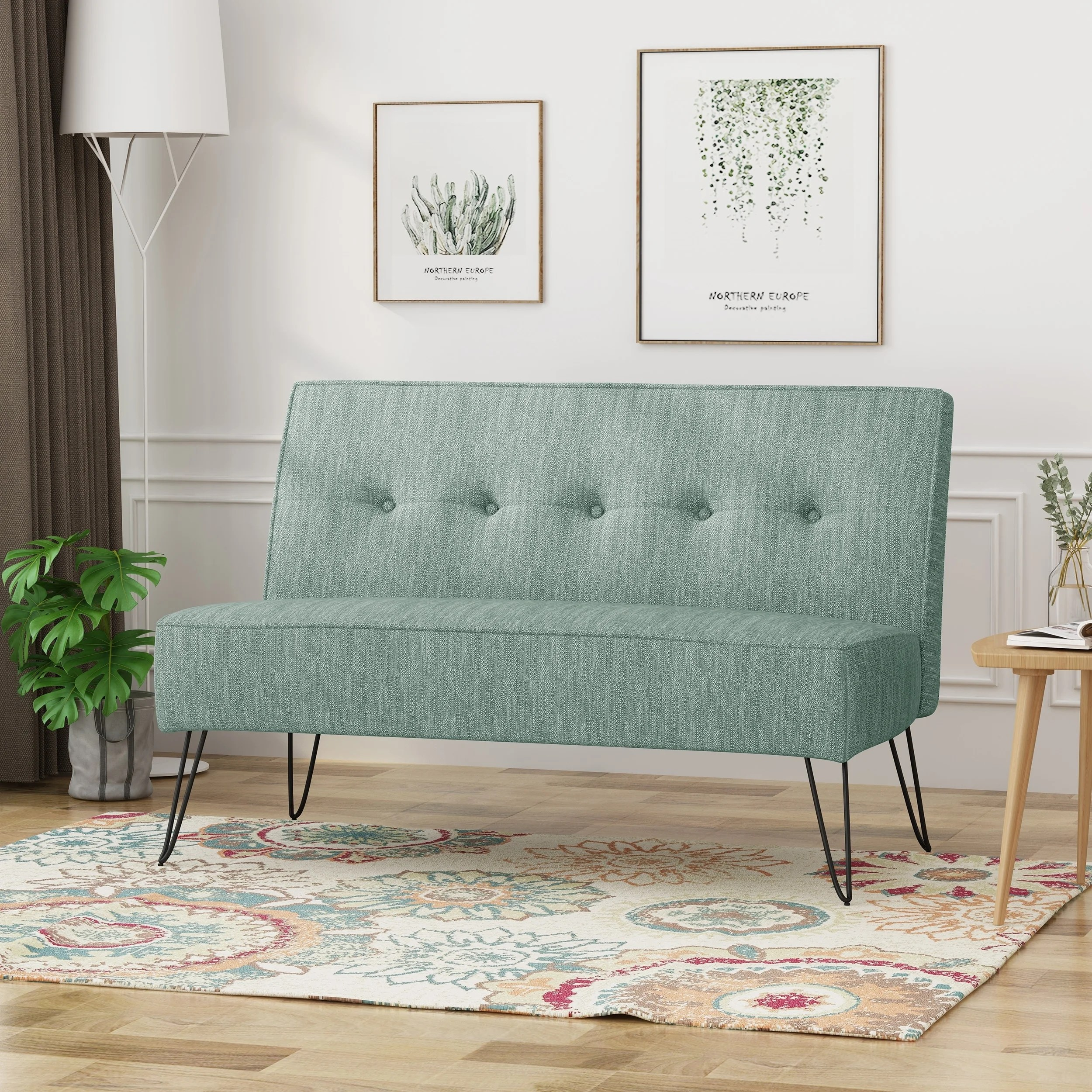 Settee No Arms Buy Armless Sofas Couches Online At Overstock Our Best Living