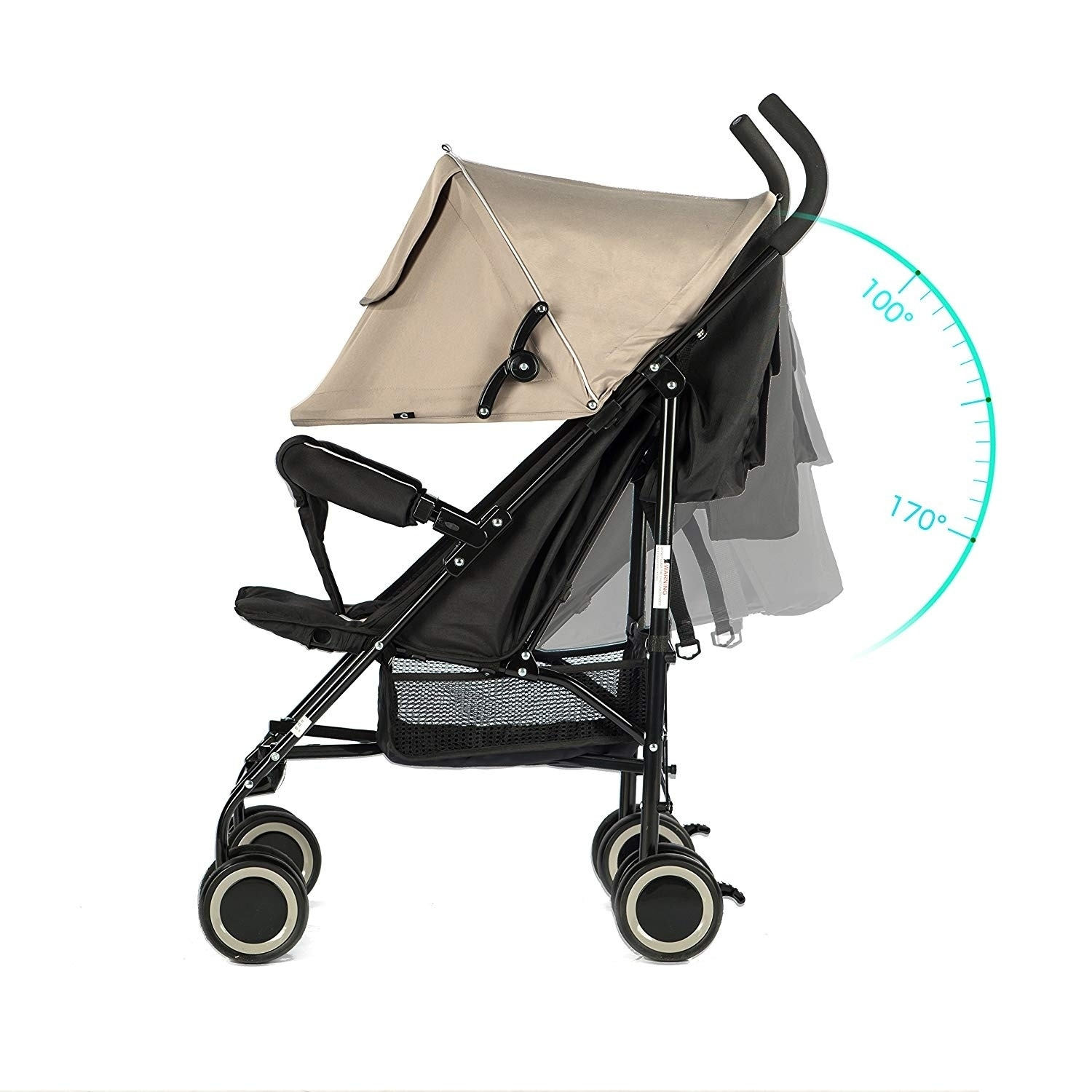 Newborn Umbrella Stroller Evezo Travis Lightweight Umbrella Stroller
