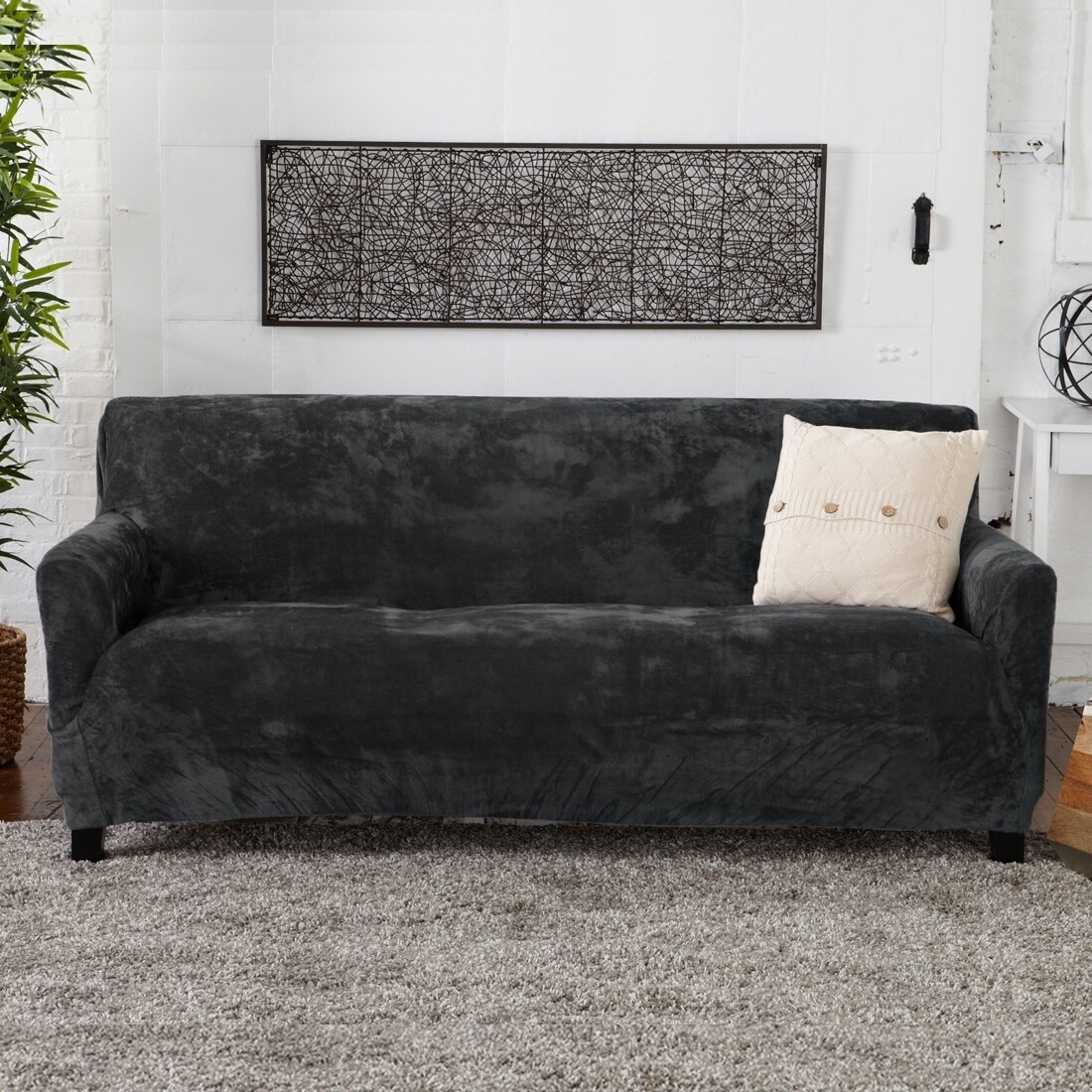 Couch Cover Sofa Buy Sofa Couch Slipcovers Online At Overstock Our Best