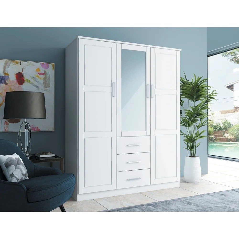 Wardrobe Furniture Buy Armoires Wardrobe Closets Online At Overstock Our Best