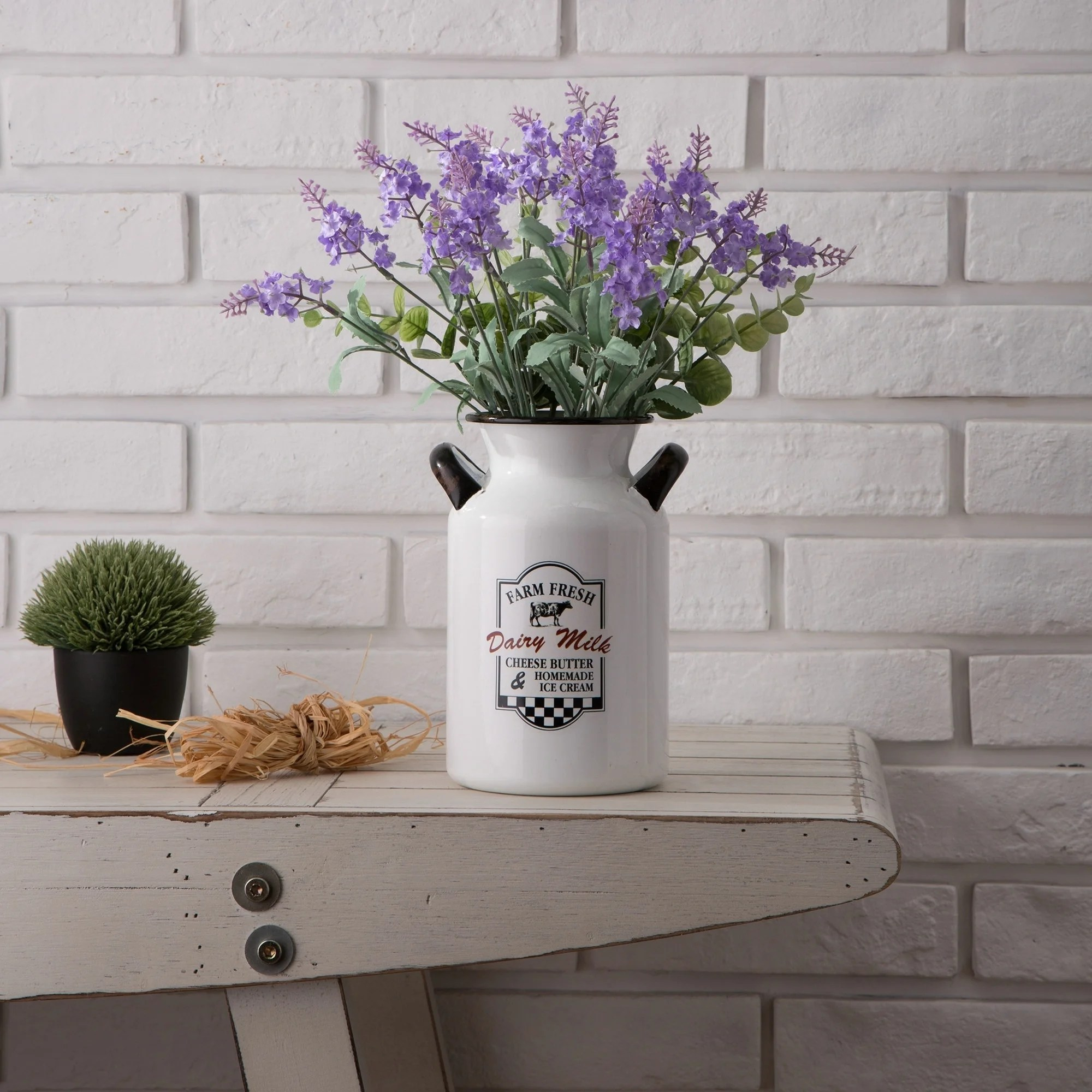 Decorative Milk Urn Glitzhome 8