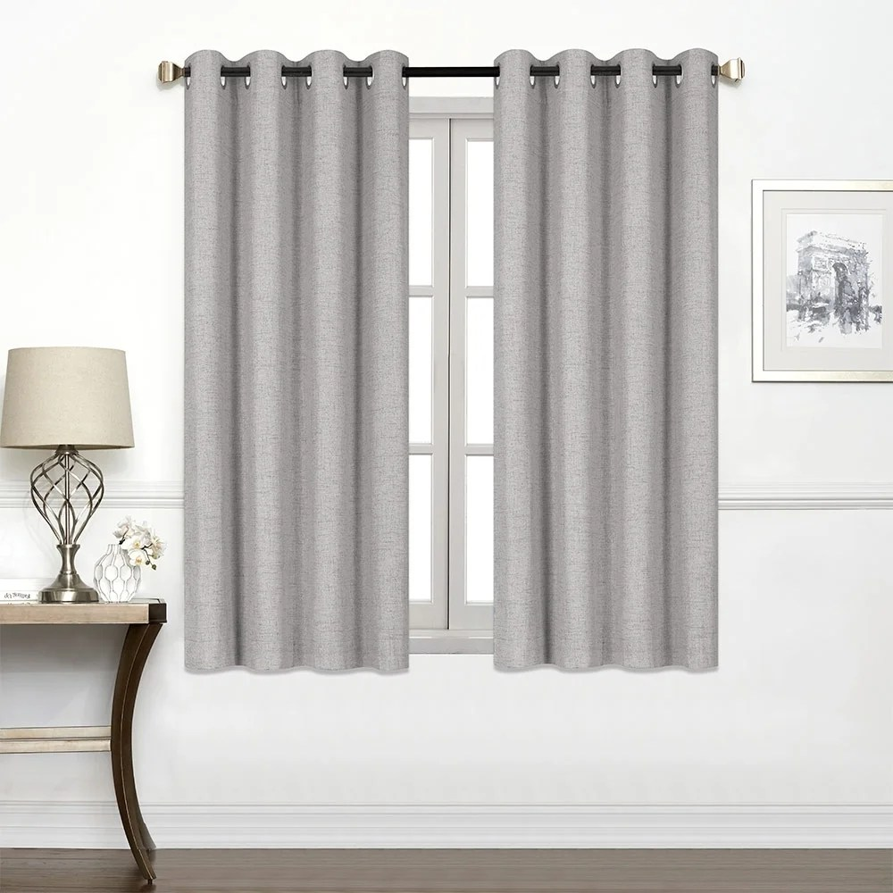 45 Inch Blackout Curtains Buy 45 Inches Blackout Curtains Drapes Online At Overstock