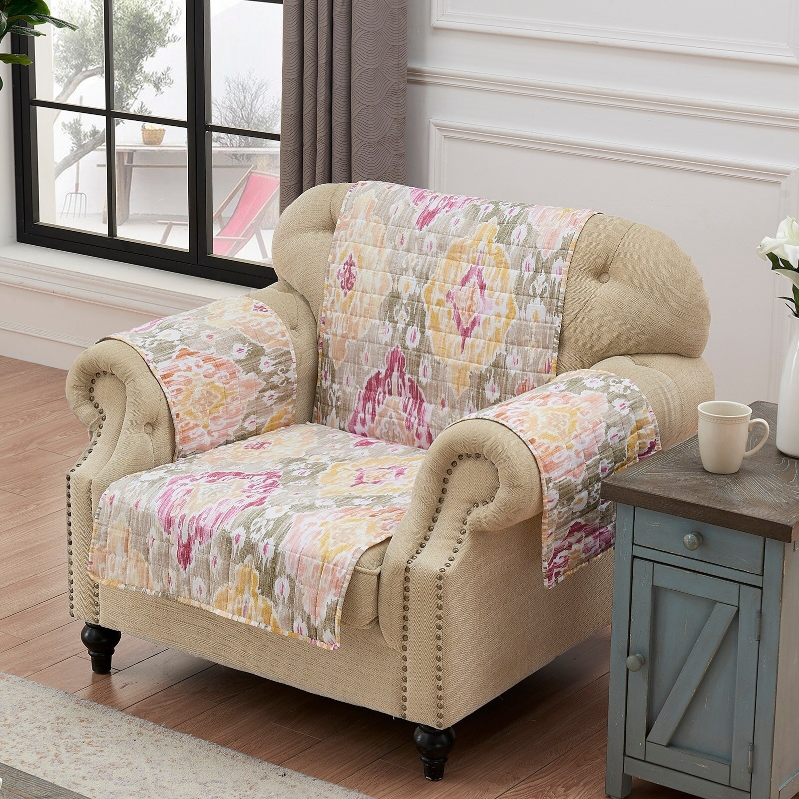 Sofa Arm Covers Dublin Moroccan Slipcovers Furniture Covers Find Great Home Decor