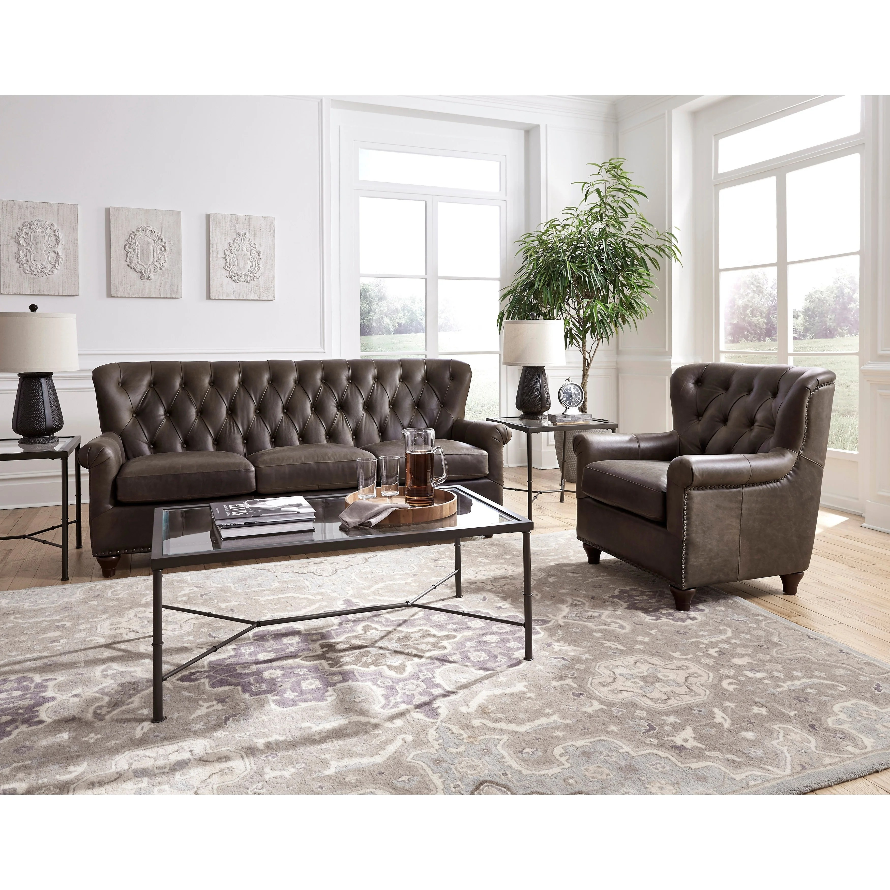 Chesterfield Sofa And Chairs Caseconrad Com