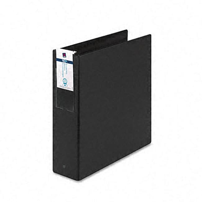 Shop Avery Black Economy 3-Inch Round Ring Reference Binder with