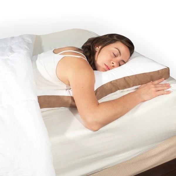 Science of Sleep Trim Sleeper Pillow for Stomach Sleepers