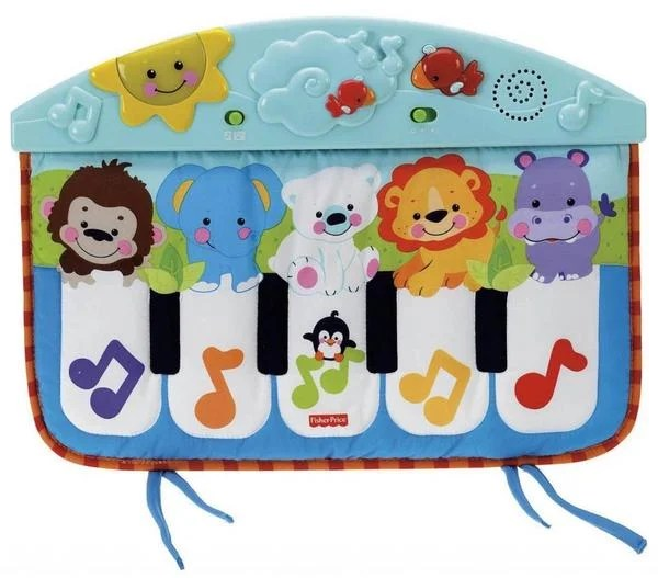 Baby Einstein 3 Meses Fisher-price Precious Planet Kick And Play Piano