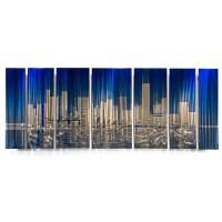 Shop Ash Carl 'Cityscape' Metal Wall Art - On Sale - Free ...